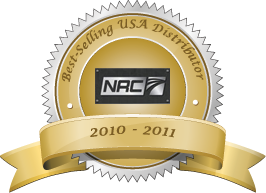 NRC's Best-Selling USA Distributor 2010 - 2011